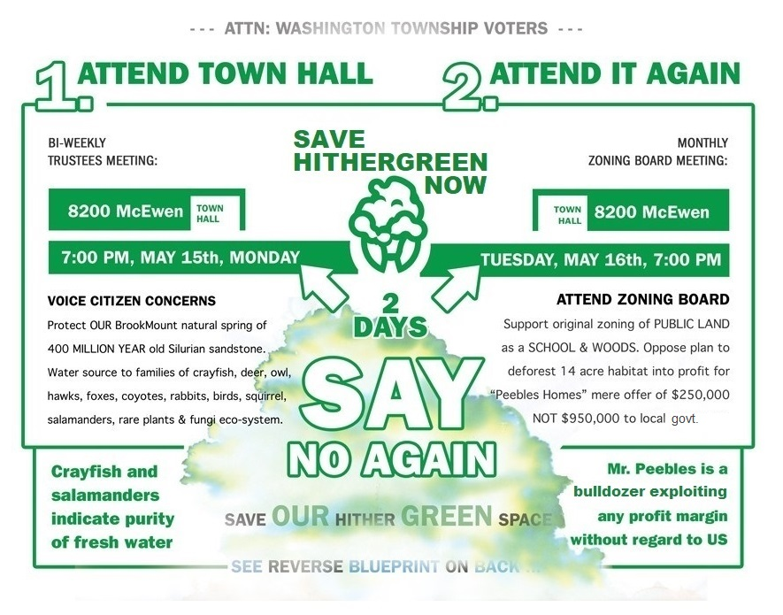 Save Hithergreen Now